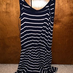 Navy/White Striped Cotton Romper from Cotton On